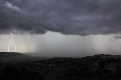Storm coming (motolafrancesco) Tags: blue sky storm nature water rain weather canon landscape eos grey nuvole estate natura basilicata potenza cielo forza matera pioggia efs paesaggio aria meteo aperta temporale nubi fulmine montescaglioso 1585 60d orzzonti