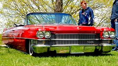 Some Old Land Boat (mister_hashtag) Tags: old red boat day yacht some convertible front cadillac anderson land headlight grille roadster cabriolet larz 2016