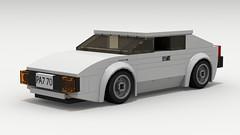 Lotus Esprit (LegoGuyTom) Tags: city classic cars sports car sport digital speed vintage james europe european lego lotus britain pov designer super legos spy download bond british 1970s supercar dropbox 007 speedster esprit povray ldd lxf legocity legodigitaldesigner