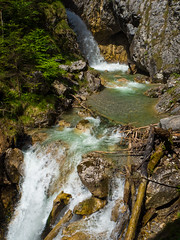 P5210073-1 (andreas.breu1) Tags: berg st tirol wasser wasserfall wolfsklamm schwaz stans rofan klamm georgenberg bergbach