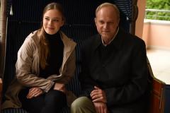 Saskia Rosendahl, Ulrich Tukur (Starcadet) Tags: bergman nele zdf neuhaus krimi badhomburg schauspieler woll filmdreh tukur settermin taunuskrimi