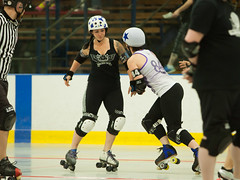 IMG_0416 (clay53012) Tags: ice team track flat arena madison skate roller jam derby league jammer mrd bout flat wftda derby womens track hartmeyer moocon2016