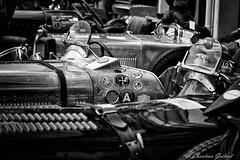 Vintage PitLane. (christian.grelard) Tags: blackandwhite bw monochrome car race canon vintage eos automobile track noiretblanc nb course circuit ancien pitlane comptition 700d canonfrance nikcollection