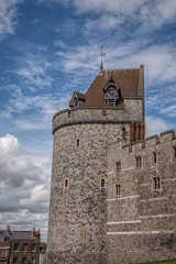 2.35 pm (James Waghorn) Tags: clouds castle summer windsorcastle sigma1750f28exdcoshsm d7100 urban windsor england royal heritage tower nikon clock
