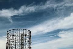 Gaz is in the Air (AlessandroDM) Tags: sky roma air gas cielo gazometro ostiense