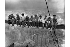 BE001089 (marinastutzman) Tags: midtownmanhattan smoking adults americans beam building constructionworker eating gebuilding group height lunch males manhattan meal men midadult midadultman midatlantic constructionsite newyorkcity newyorkstate northamerica northamericans occupations officebuilding people rcabuilding resting rockefellercenter sitting skyscraper urbanscenes usa whites workbreak