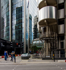 _DSC5446 (durr-architect) Tags: lloyds london building architecture modern richard rogers partnership hightech company headquarters office stainless steel facade