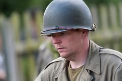 DSC_7416.jpg (john_spreadbury) Tags: ww2 mortar gi homeguard german blacknwhite johnspreadbury reenactment group rifle machinegun stengun cricklade swindon railway troops army english americans uniforms smoke wartime soldiers british
