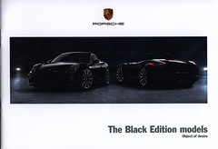 Porsche - The Black Edition models, Object of desire  (Cayman, Boxster); 2015_1 (World Travel Library) Tags: porsche black edition models object desire cayman boxster 2015 car brochures sales literature germany deutschland auto worldcars world travel library center worldtravellib thecollection automobil papers prospekt catalogue katalog vehicle transport wheels makes model automobile automotive motor motoring drive wagen photos photo photograph picture image collectible collectors ads fahrzeug german frontcover cars   ride go by automobiles documents dokument broschyr esite catlogo folheto folleto