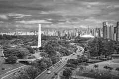 Ibirapuera a partir do MAC (Serlunar (tks for 5.0 million views)) Tags: ibirapuera partir do mac serlunar pb foto photo sao paulo brasil 23 de maio avenida