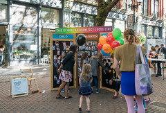 Seattle Design Festival Block Party 2016 (architecturegeek) Tags: sdf2016 inflatable architecture dodecatron seattle design festival designchange inflatablearchitecture seattledesignfestival