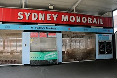 Paddy's Market Station - Sydney Monorail (no more) (Jungle Jack Movements) Tags: sydney nsw newsouthwales monorail station market closed infrastructure australia australiarailway rail paddys paddysmarket john capital ss jungle jack
