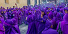A Sea of Purple (Chaitanya Deshpande | Photography) Tags: travel easter catholic guatemala prayer antigua devotion christianity semanasanta centralamerica travelphotography semanasantaantigua