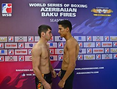 06/05/2015 Quarter Finals Weigh In Azerbaijan Baku Fires vs Mexico Guerreros Leg 2 (World Series Boxing) Tags: wsb playoffs boxing quarterfinals aiba seasonv worldseriesboxing azerbaijanbakufires mexicoguerreros