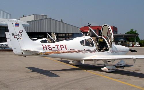 Cirrus SR20 HS-TPI-02 Hua Hin 14Jan10