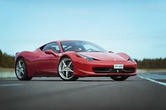 Ferrari 458 Italy (Mikko Miettinen) Tags: red italia ferrari supercar 458 worldcars alastarofinland