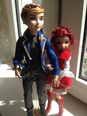 This little fairy found her prince :) (Savalena) Tags: high pacific fairy after dexter ever jakks rozetta eah