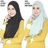 INSTANT SHAWL AZZA GLITTER (LIMITED EDITION) (Syalin's Collection) Tags: glitter instant shawl limited edition azza