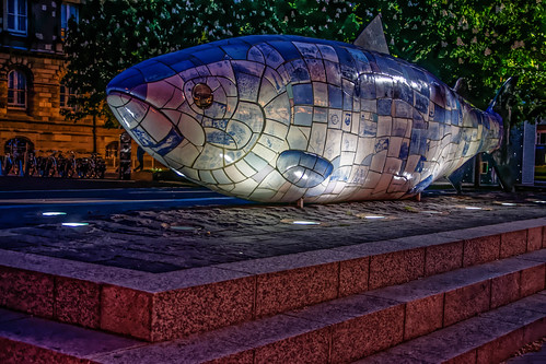 THE BIG FISH AT NIGHT [BY JOHN KINDNESS] REF-104721