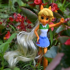Hello from the Begonia Patch (linda_lou2) Tags: toy mcdonalds day149 applejack happymealtoy mcdonaldstoy 149365 365toyproject day149365 equestriagirls 365the2015edition 3652015 29may15