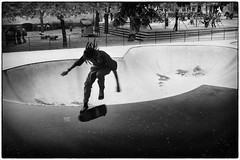 The lonely skater (stejo) Tags: playground dreadlocks speed jump movement stockholm södermalm fart skateboard lonely rasta hopp stockholmstreet rörelse ensam björnsträdgård lekpark ilobsterit
