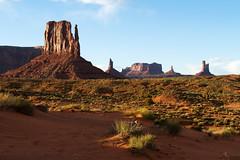 Enjoying a Sunset at Monument Valley (jpmckenna - Denali Bound) Tags: arizona landscape sandstone desert roadtrip highdesert monumentvalley navajotribalpark getoutside amazinglocation