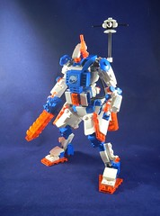 Ice Planet Survey frame (donuts_ftw) Tags: lego space scifi mecha moc iceplanet