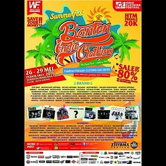 Banten Indie Clothing Summer Fest 2016 OFFICIAL EMAIL #SUMMERFEST_BANTENINDIECLOTHING2016 The Biggest Event At Summer Fanspage : Banten Indie Clothing Twitter : @Bantenclothing IG : @BantenIndieClothing Path : Banten Indie Clothing  CP  Marketing : 0812 8 (kotaserang) Tags: summer promotion marketing clothing official media path email event indie cp fest partner biggest ig the 705 2016 0812 twitter 8624 banten at saveyourmoney kotaserang instagram ifttt fanspage bantenindieclothing bantenclothing summerfestbantenindieclothing2016 087885556503