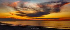 Watching in wonder. (johnwilliamson4) Tags: sunset beach clouds landscape outdoor australia adelaide southaustralia semaphore