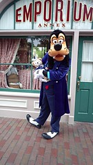 Goofy with Duffy (BeautifulToyReviews) Tags: bear street dog goofy outside outdoors anniversary disneyland character main parks disney diamond celebration duffy edition meet 60th greet