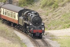 BR Standard 4MT 2-6-0 No. 76079 (mark_fr) Tags: station br no north railway moors standard 260 pickering goathland yorks levisham halt 4mt grosmont nymr lner 080 q6 76079 newtondale 264t 63395 80135