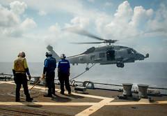 160516-N-MJ645-243 (U.S. Pacific Fleet) Tags: navy underway deployment southchinasea ddg93 usschunghoon greatgreenfleet