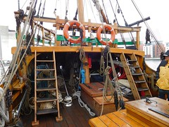 Mathew (4) (goweravig) Tags: uk swansea wales ship matthew replica sail carvel sailingship forecastle swanseadocks