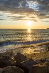 DSC_0167-2 (sergeysemendyaev) Tags: sunset sea storm beach spring warm waves russia dusk adler atthebeach seashore blacksea seacoast bigwaves sochi  2016                 duringf1 1 duringformulaone