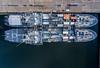 Kieler Woche 2016 (Offizieller Auftritt der Bundeswehr) Tags: deutschland marine event hafen schiff kiel tender schiffe schleswigholstein luftaufnahme kielerwoche marinestützpunkt a511elbe a516donau