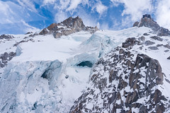 glacier (sabrandt) Tags: snow france mountains alps ice glacier alpine chamonix montblanc rhonealpes