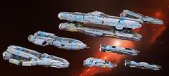 FE BattleFleet (Si-MOCs) Tags: battleship legobattleship cutthroatbattleship mybeautifulfleet