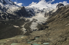 Pasterze Glacier, Hohe Tauern NP Austria (stefanamsterdam) Tags: mountain mountains alps ice landscape austria outdoor hiking glacier alpine hohe pasterze tauern grosglockner