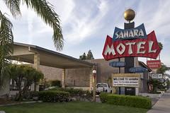 Sahara Motel, Anaheim, CA (Dean Jeffrey) Tags: california sign losangeles neon motel anaheim