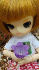 It's a cup! (-nickless-) Tags: outdoors doll little dal mueca rotchan minidal gozoki obitsu11cm