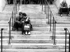Library Steps. New York City, 2016. (minus6 (tuan)) Tags: mts minus6