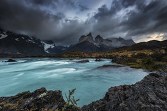 Its not all Sunshine but we can survive the Storm Together (SharonWellings) Tags: chile red patagonia southamerica torresdelpaine sharonwellings
