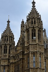 Neo-Gothic Ornateness (pjpink) Tags: uk england london architecture spring britain may housesofparliament parliament government ornate neogothic palaceofwestminster 2016 pjpink