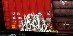 (timetomakethepasta) Tags: tx viz adikts dts yat moniker freight train graffiti cirr boxcar nekst next