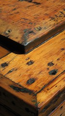 Restoration (Wawa Duane) Tags: old orange ontario canada stain pine project screws soft paint box restoration stripping wawa minwax resanding