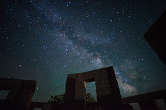 Stonehenge (18) (Wired Design Solutions) Tags: stonehenge maryhill a7ii sony monument zeiss batis2818 washington forgotten marryhill stone celtic sacrifice ritual color contrast hill vetrans milkyway stars astrology space night nighttime mystical