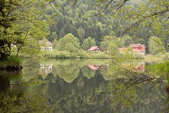 Au pays des contes (Gisou68Fr) Tags: lake france water see spring eau wasser lac paysage reflexions reflets printemps vosges 2015 retournemer