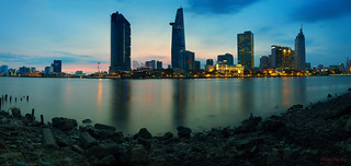 Saigon river | Panorama version