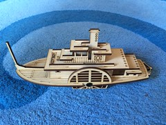 PS Adelaide (Figgles1) Tags: model paddle ps adelaide steamer mdf iphone echuca img7142 psadelaide