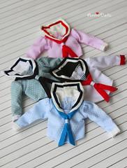Vintage Long Sleeve Sailor Shirt 4 Color